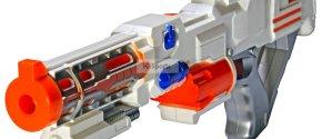 KiiToys® Combat Toy Gun Foam Dart Blaster (White )