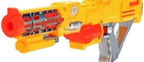 KiiToys® Combat Toy Gun Foam Dart Blaster (Yellow)